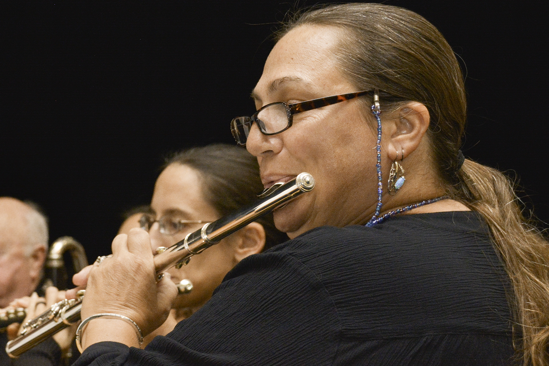 The St. Augustine Concert Band attracts many talented musicians.